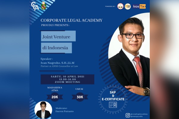 Tiket Joint Venture in Indonesia (Students)
